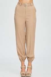 Emory Park Belted Wide Pants - Product Mini Image
