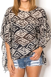 BeLush Tribal Chiffon Top - Product Mini Image