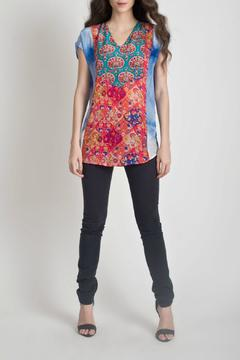 Shoptiques Product: Sleeveless Print Blouse