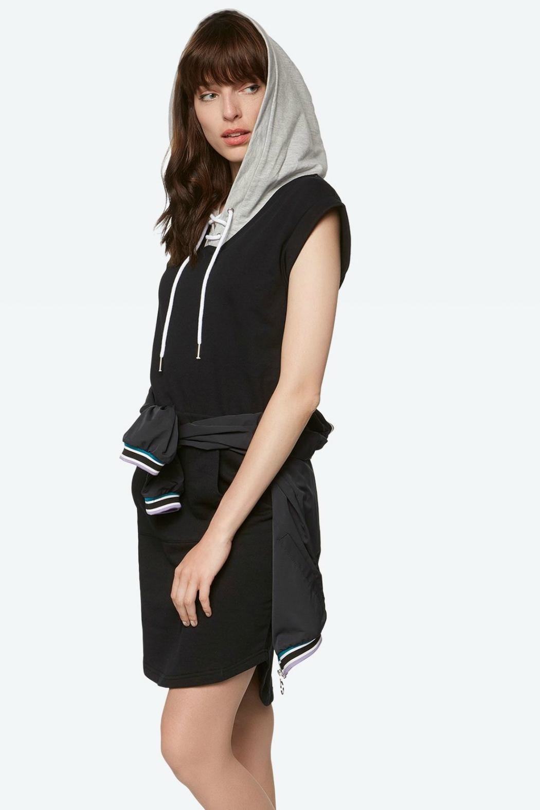 Bench Hoody Dress - Side Cropped Image