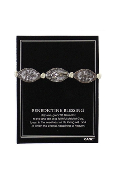 Ganz Benedictine Blessing Bracelet - Alternate List Image