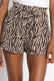 Quarter To Five Bengal Drawstring Shorts - Product Mini Image