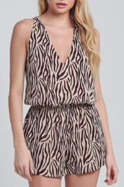 blue blush Bengal Romper - Product Mini Image