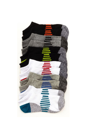 Stride Rite Benjamin Athletic No Show Socks 6-Pack - Product Mini Image