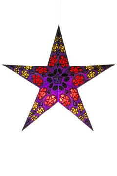 Benjamin International Purple Star Lantern - Alternate List Image