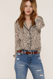 Heartloom Benny Leopard Top - Product Mini Image
