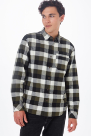Ten Tree Benson Flannel Shirt - Front cropped