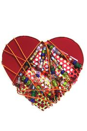 Bently Heart Beaded Pin - Product Mini Image