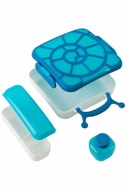boon by Tomy Bento Box - Blue - Front full body
