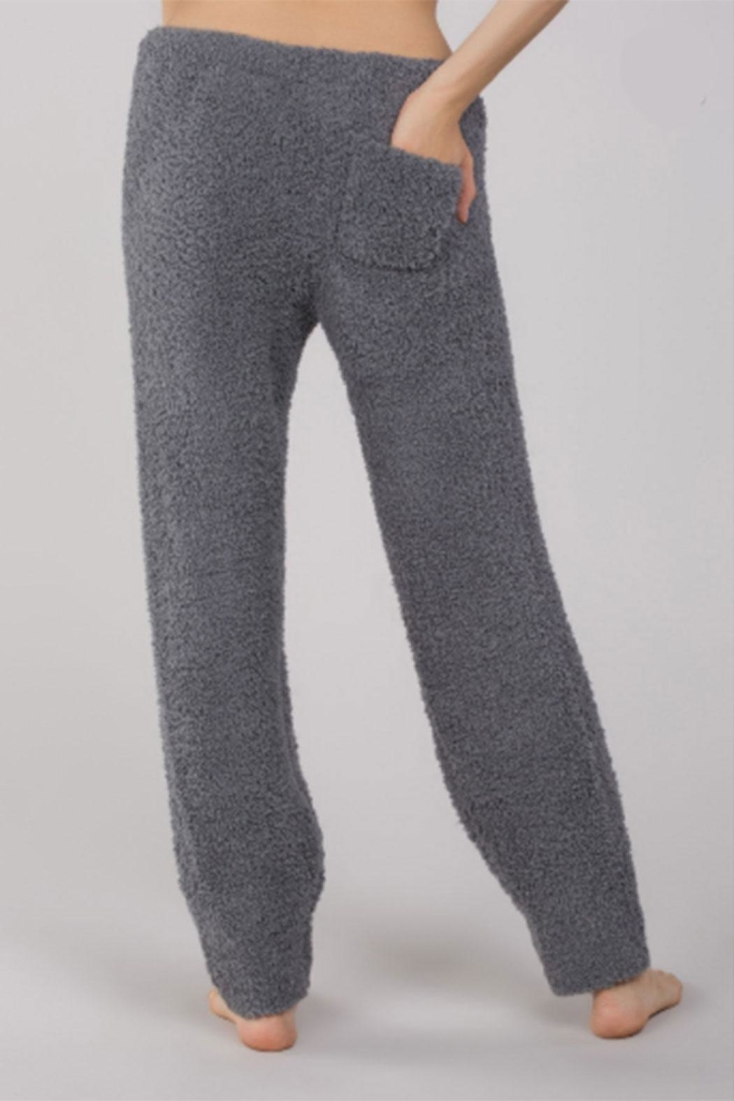 POL Berber-Fleece Cozy Pants - Side Cropped Image