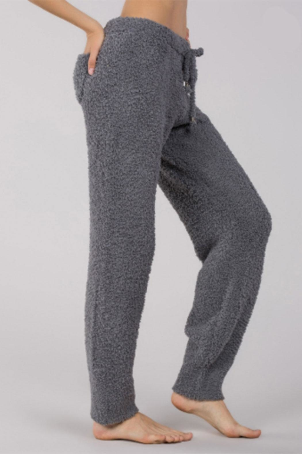 POL Berber-Fleece Cozy Pants - Front Full Image