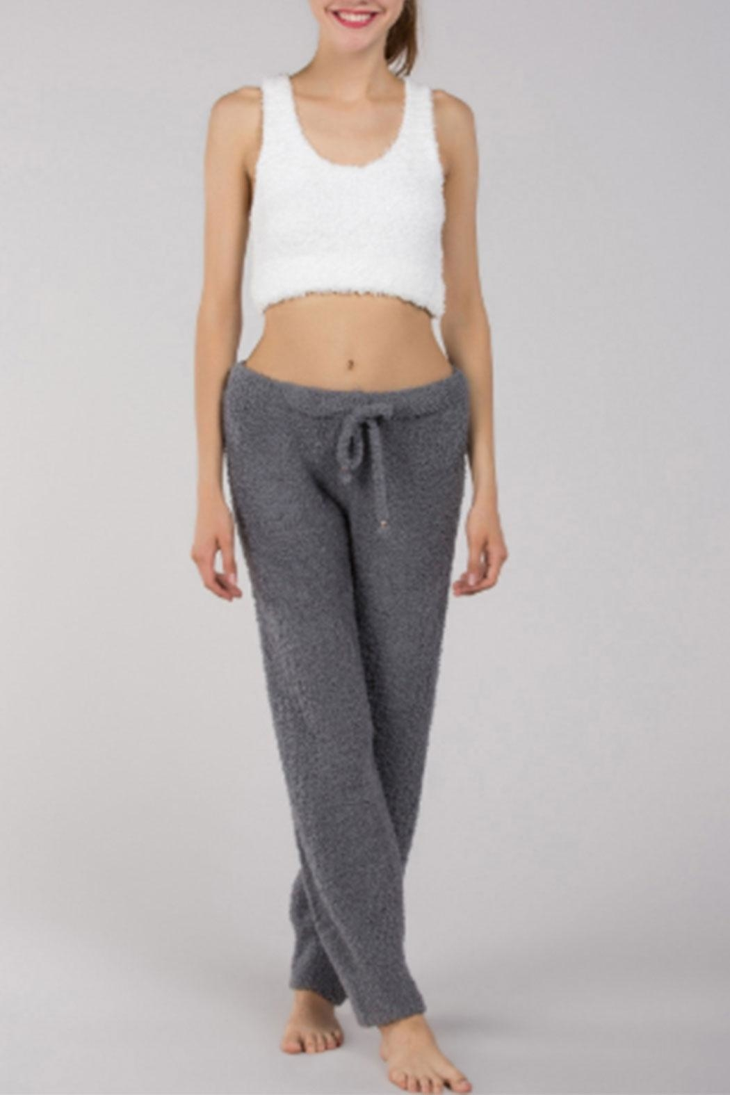 POL Berber-Fleece Cozy Pants - Main Image