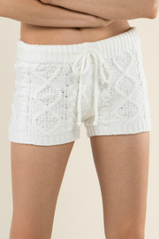 POL Berber fleece knit shorts - Product Mini Image