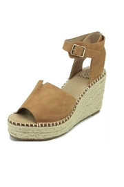 Beast Fashion Berlin Ankle-Wrap Wedge - Front cropped