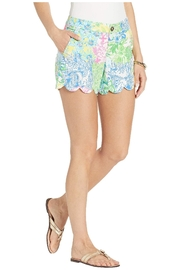 Lilly Pulitzer Bermuda Callahan Multi Floral Shorts - Front cropped