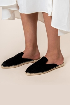 42 Gold Bermuda Espadrille Mule - Product List Image