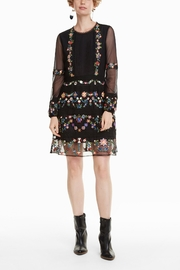 DESIGUAL Berna Folk Dress - Product Mini Image