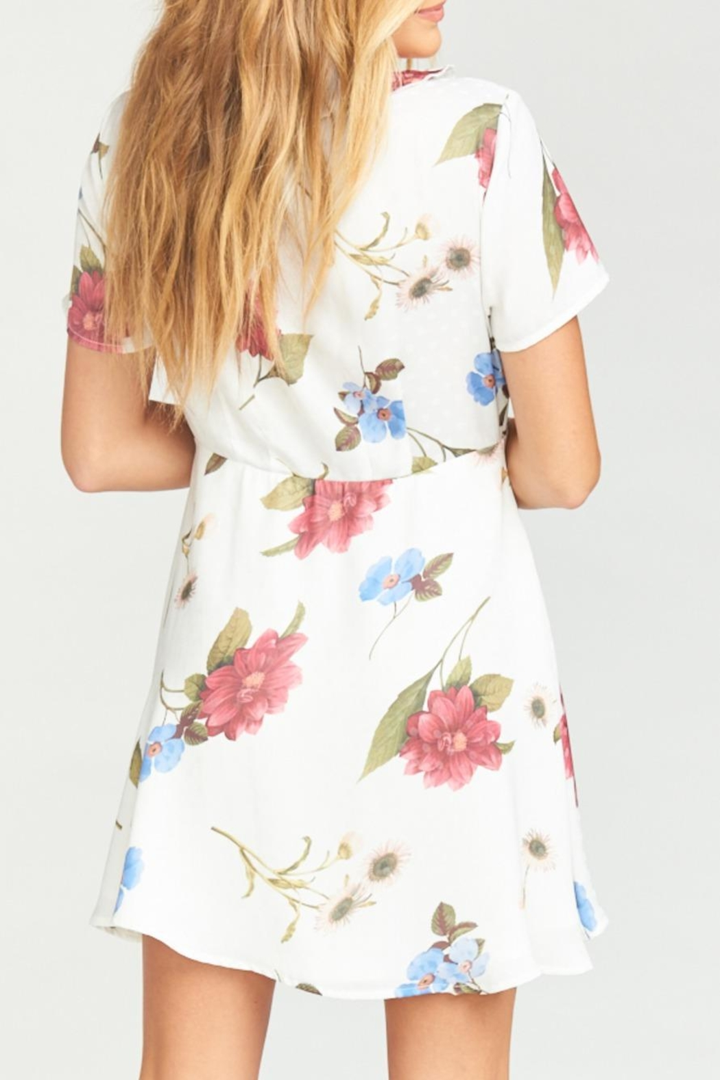 Show Me Your Mumu Bernadette Babydoll Dress - Back Cropped Image