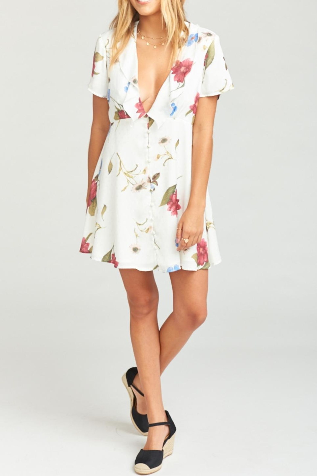 Show Me Your Mumu Bernadette Babydoll Dress - Main Image