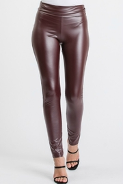 Heimish Bernadette Pleather Legging - Product Mini Image