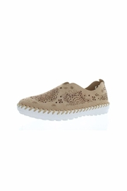 Bernie Mev Slip On Nubuck Flats - Product Mini Image