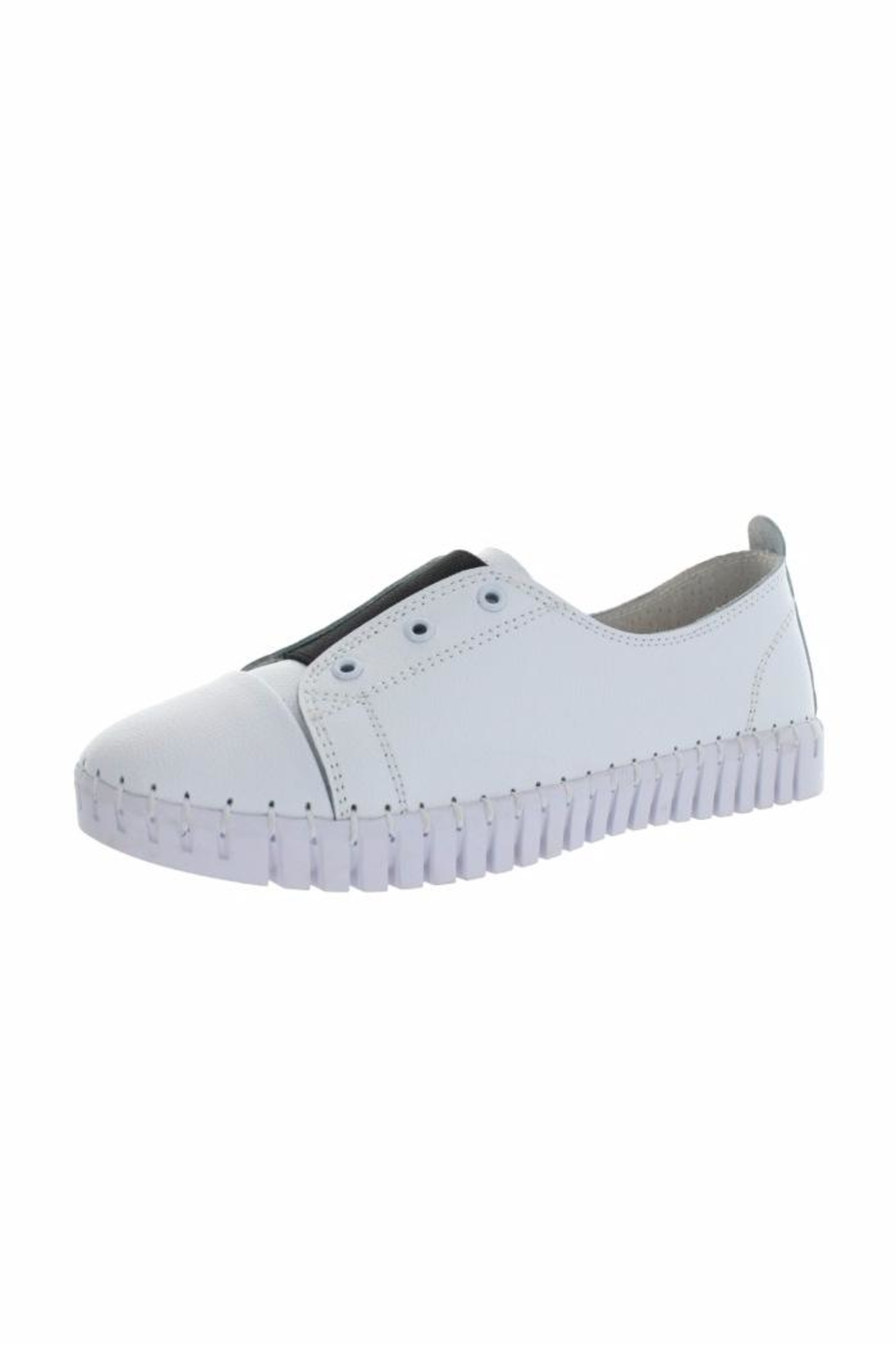 Bernie Mev White Sneaker - Front Cropped Image