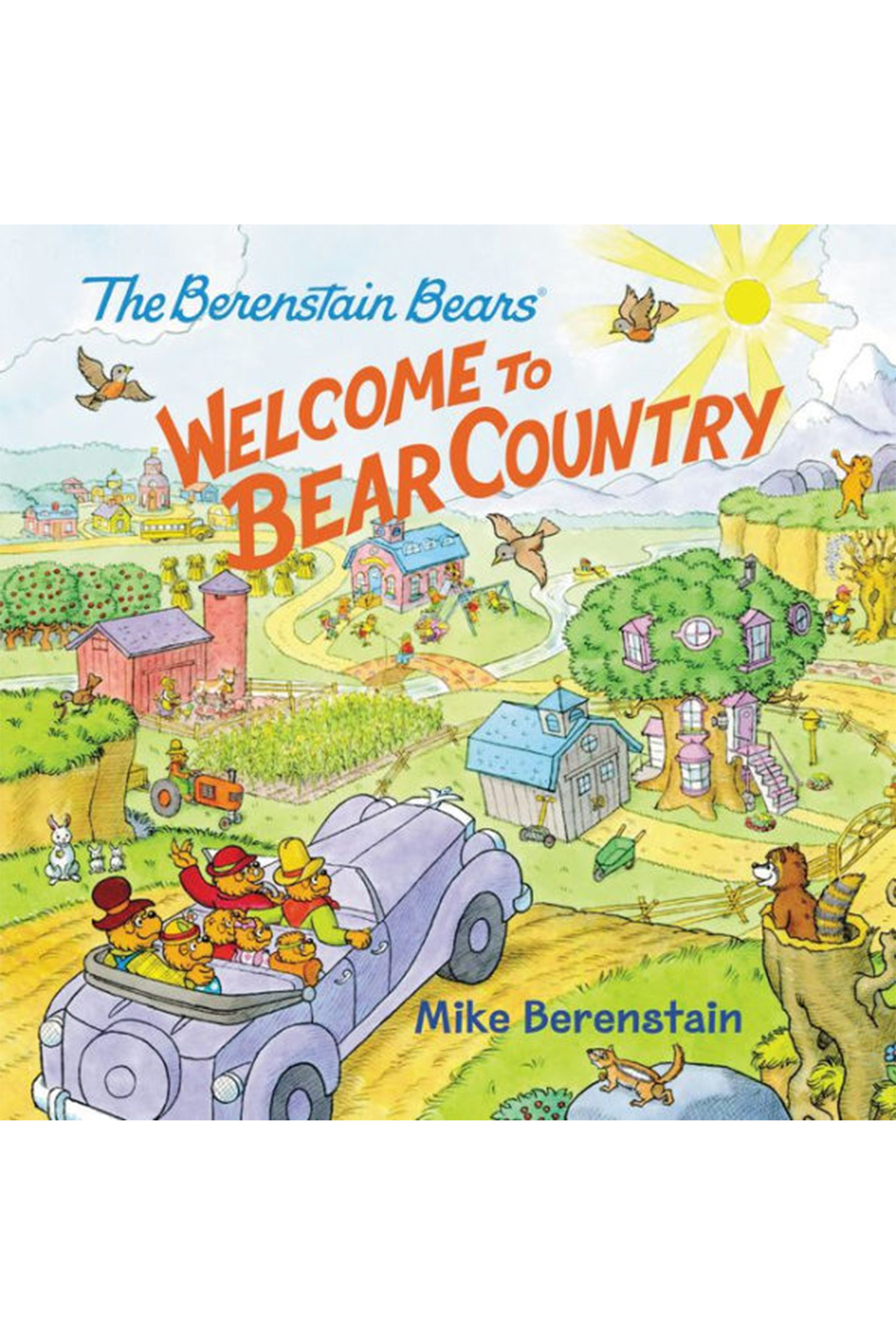 Harper Collins Publishers Bernstain Bears: Welcome To Bear Country - Main Image