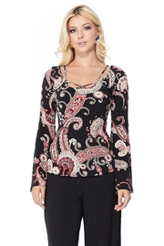 Vava by Joy Hahn Berri Bell Sleeve Top - Product Mini Image