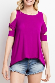 Imagine That Berry Blossom Top - Product Mini Image