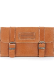cueropapel&tijera Berry Leather Wallet - Product Mini Image