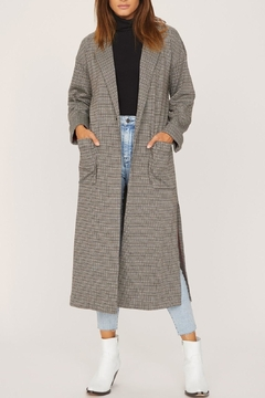 Shoptiques Product: Bespoke Long-Lean Duster