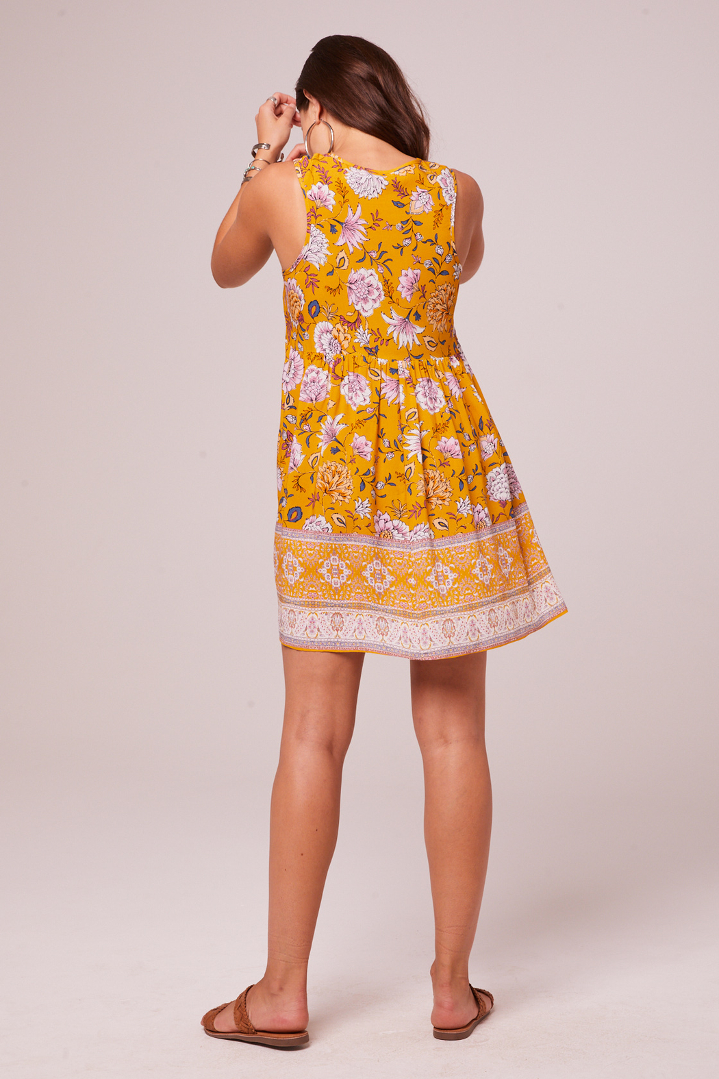 Band Of Gypsies Bessie Shift Dress - Side Cropped Image