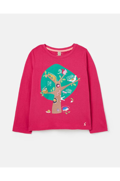 Shoptiques Product: Bessie Top - Pink Tree