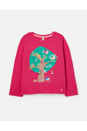 Joules Bessie Top - Pink Tree - Product Mini Image