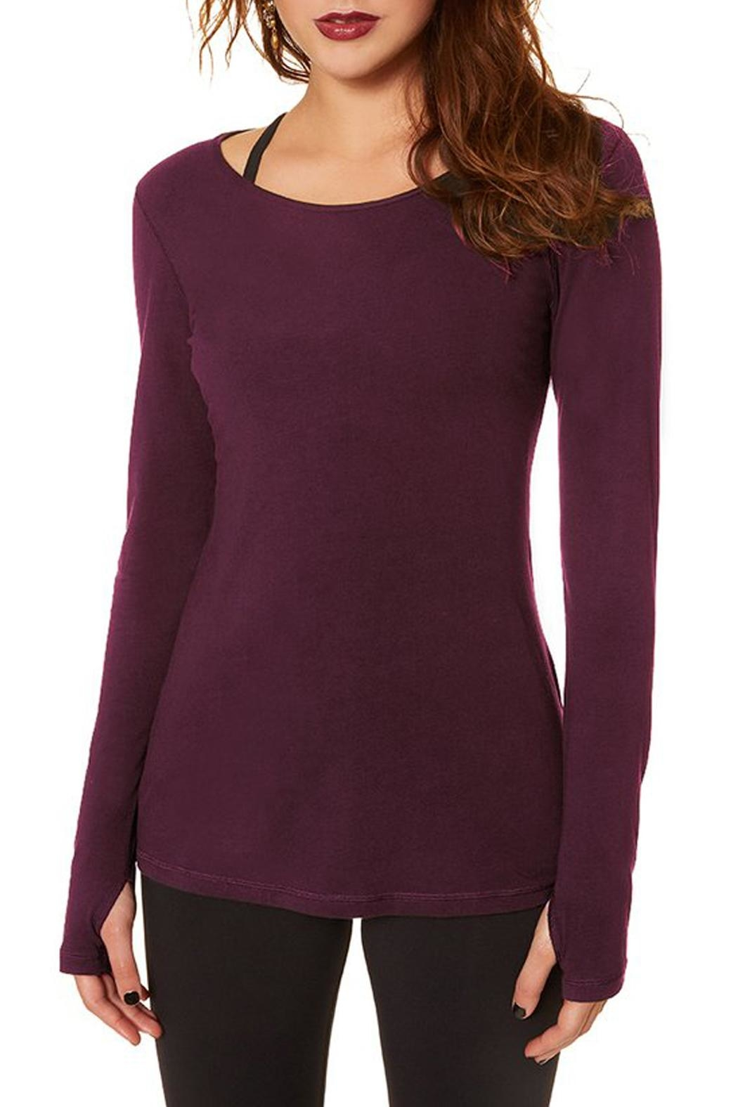 Nancy Rose Best Basic Tee - Front Cropped Image
