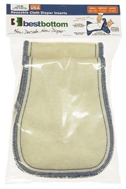 Best Bottoms - Hemp Organic Cotton Overnight Inserts (2pk) - Product Mini Image