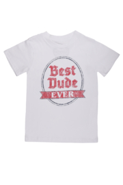 Tiny Whales  Best Dude Ever Tee - Front cropped