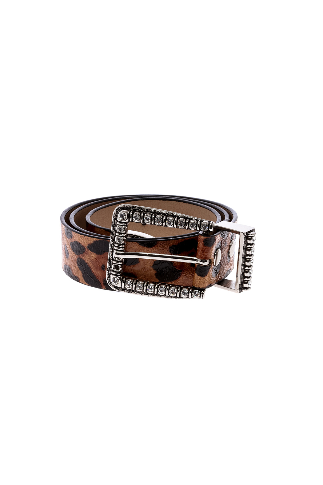 Best Handbag Leopard Printed Belts - Front Cropped Image