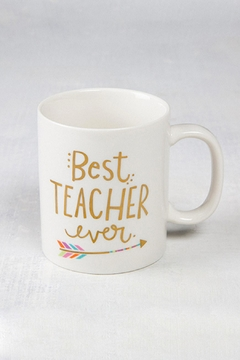 Natural Life Best Teacher Mug - Alternate List Image