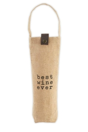 MUDPIE Best Wine Bag - Product Mini Image