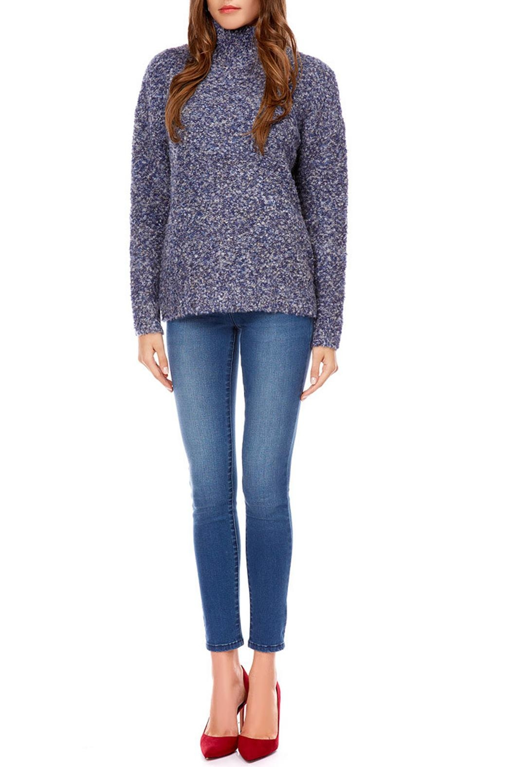 Best Mountain Montant Sweater - Back Cropped Image