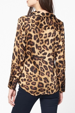 Best Mountain Twisted Leopard Blouse - Alternate List Image