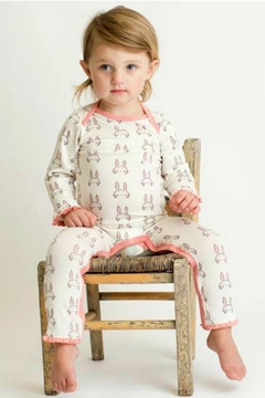 Shoptiques Product: Baby-Girl Bunny Coverall