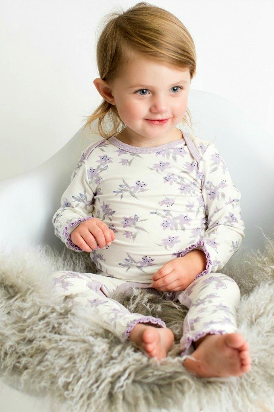 Bestaroo Baby-Girls Lavender-Lily Coverall - Main Image