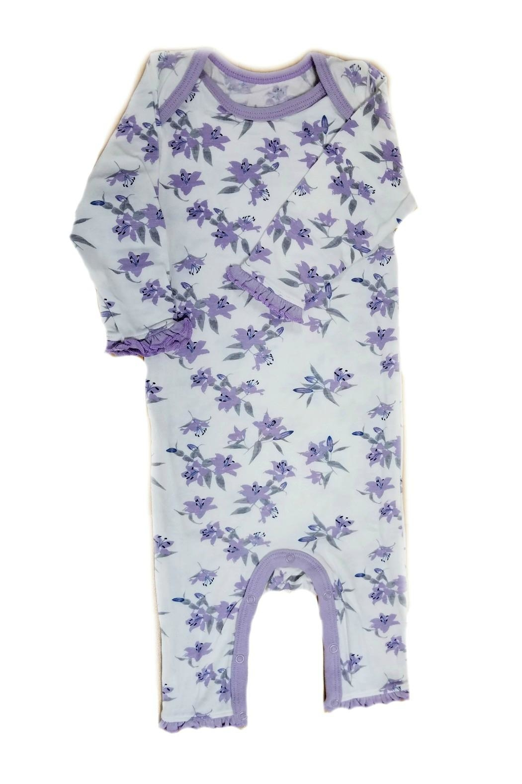 Bestaroo Baby-Girls Lavender-Lily Coverall - Front Full Image