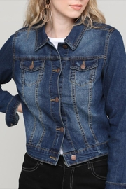 Beta House Perfect Denim Jacket - Product Mini Image
