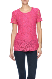 Betas Choice Pink Lace Top - Product Mini Image