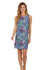 Jude Connally Beth Dress Jude Cloth - Watercolor Floral - Product Mini Image
