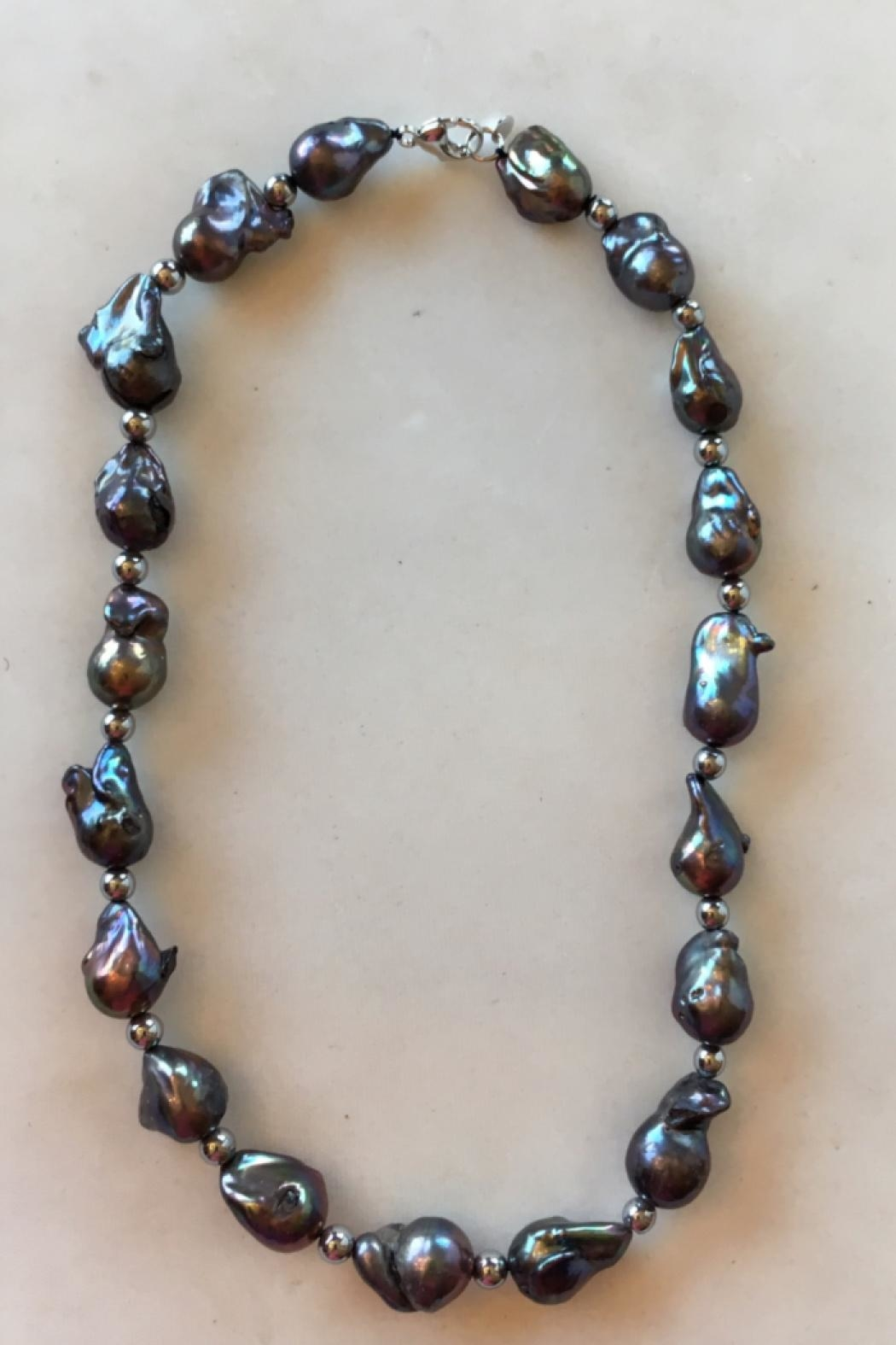 Beth Friedman Baroque Black Pearls - Main Image