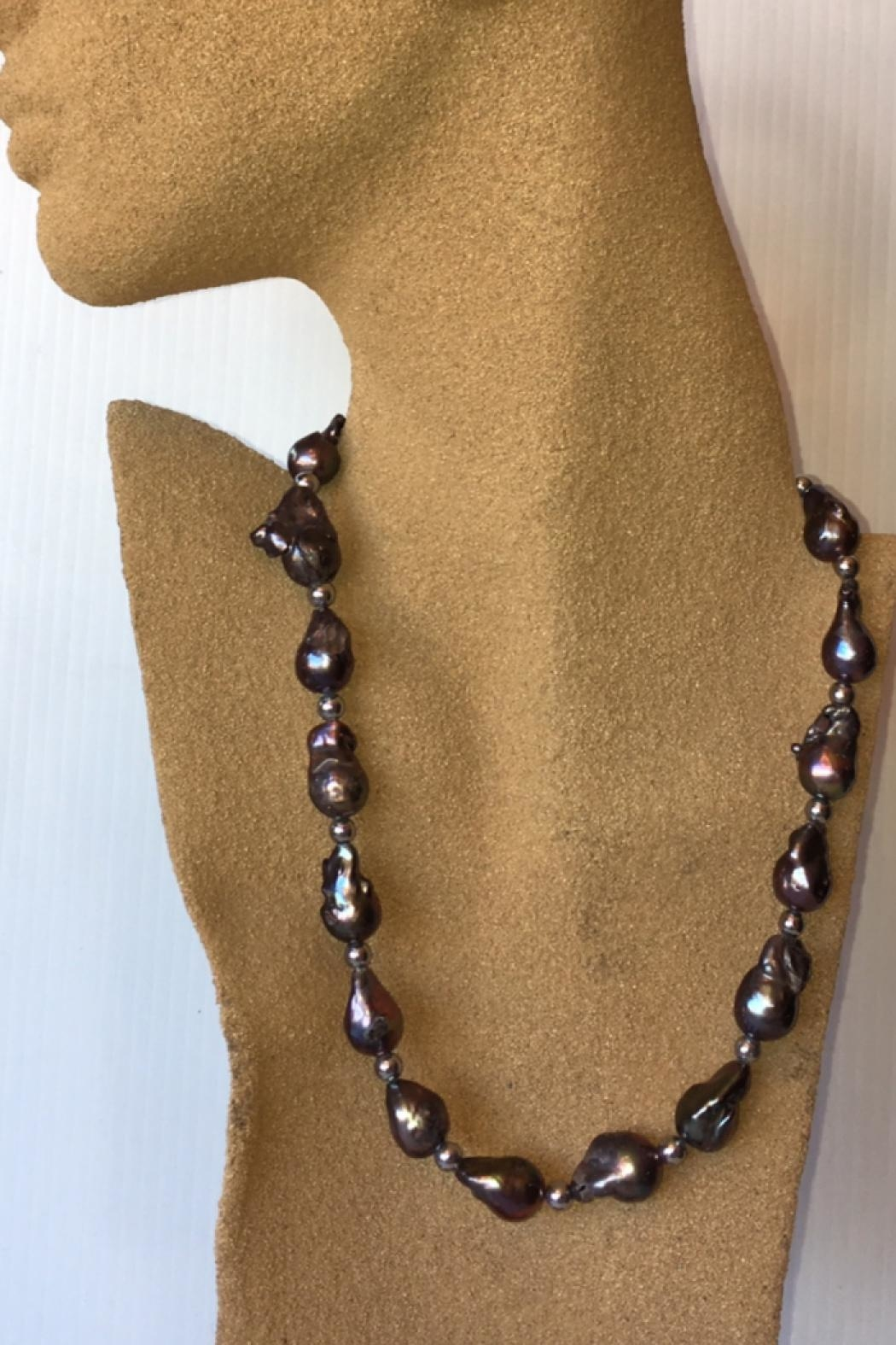 Beth Friedman Baroque Black Pearls - Side Cropped Image